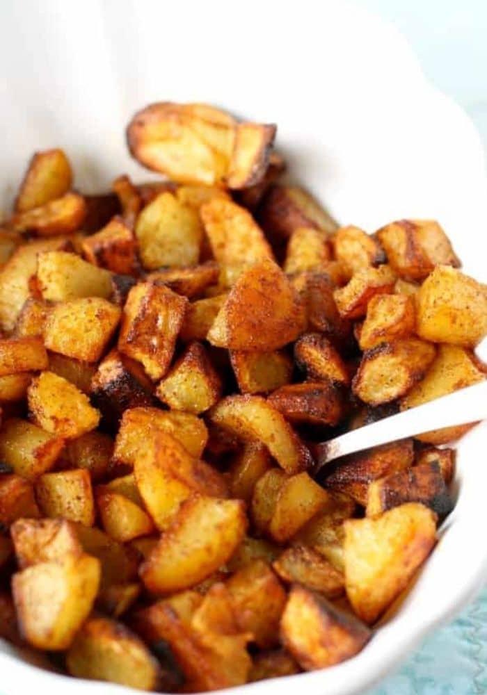 Perfectly Seasoned Roasted Potatoes.